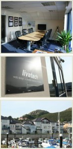 web design north wales livetech offices
